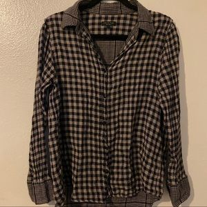 Rag & Bone | Plaid Button Down Shirt